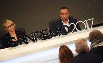 Festival di Sanremo 2017, conferenza stampa del 7 febbraio in diretta live