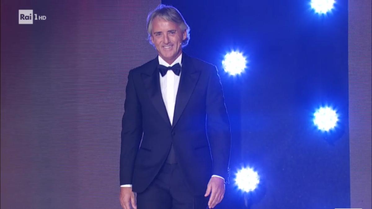 Roberto Mancini Ballando con le stelle 2017