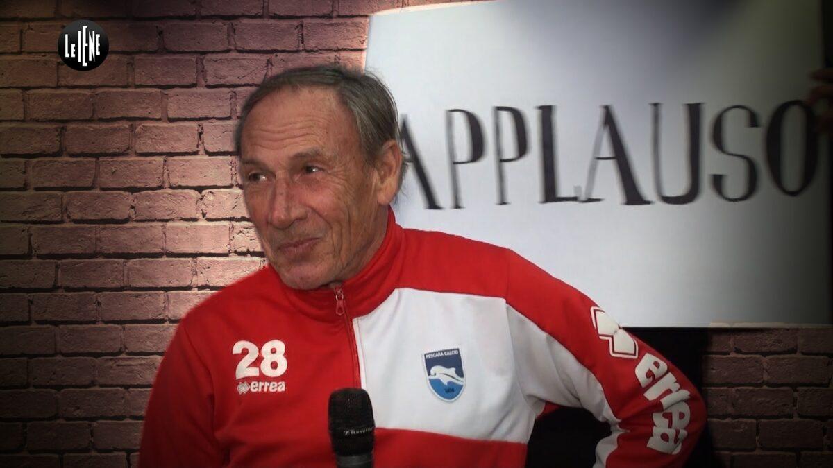 Zeman a Le Iene 2017