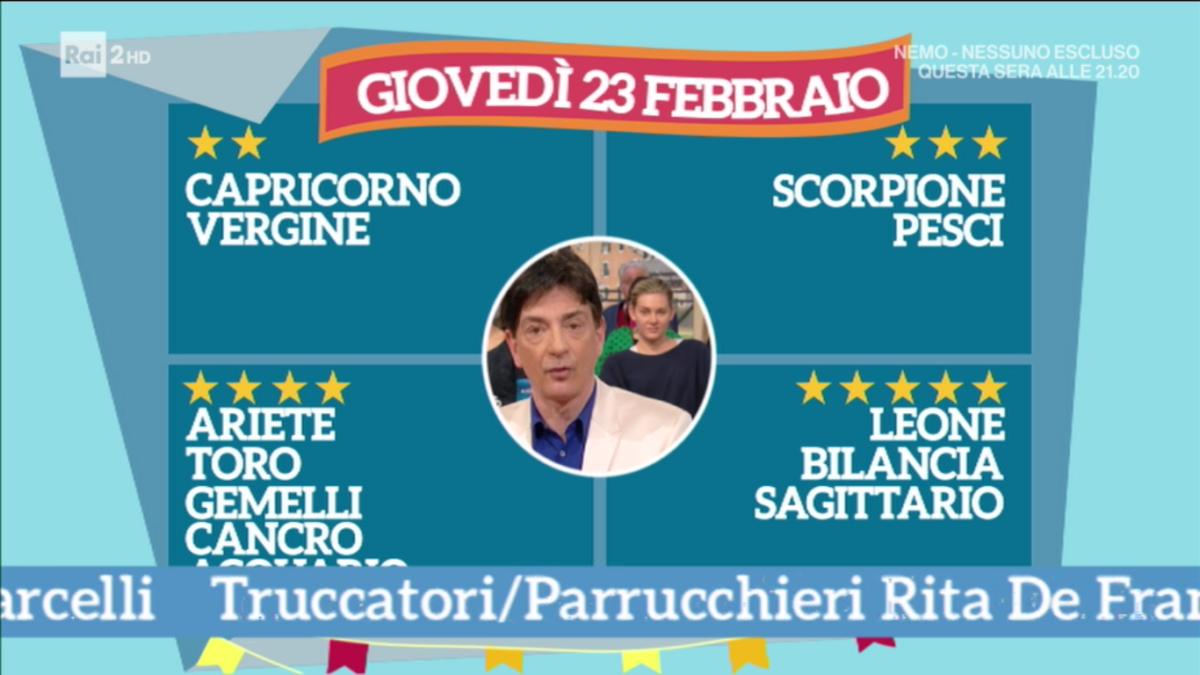 Oroscopo, le previsioni di Paolo Fox di oggi 23 febbraio 2017 a Radio Latte Miele: Capricorno, siete nervosi