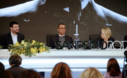 Festival di Sanremo 2017: conferenza stampa del 10 febbraio