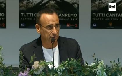 Sanremo 2017, Carlo Conti sulla partecipazione ad Amici: 'Non ho pagato nessuna penale'