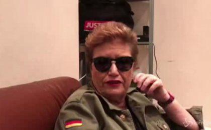 Mara Maionchi a Sanremo 2017: 'Fiorella Mannoia ha classe, mestiere e storia'.