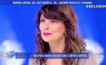 Domenica Live, Marina La Rosa: Pietro Taricone mi ha aiutata a salvarmi