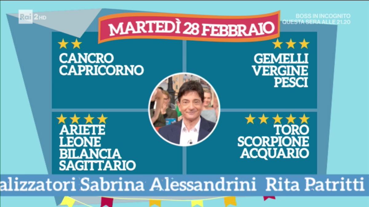 Oroscopo Paolo Fox 28 febbraio 2017 a I Fatti Vostri: previsioni elettrizzanti per l'Acquario