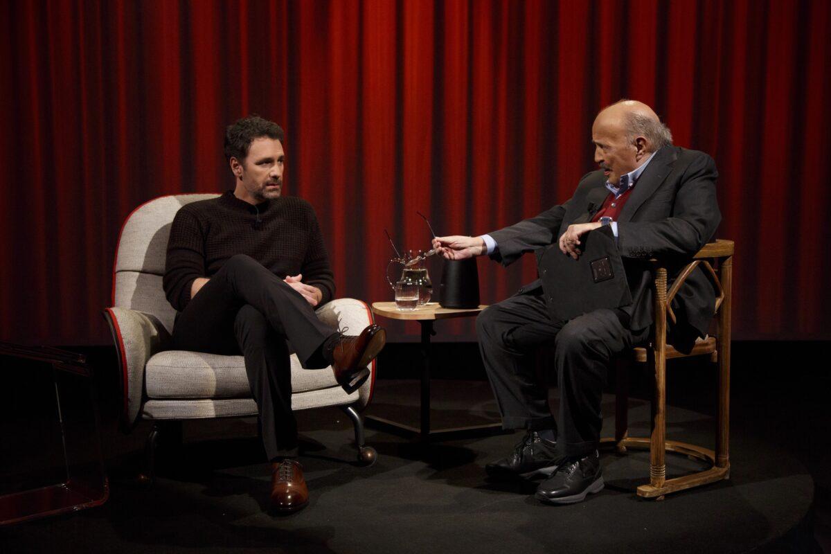 L'Intervista 2017: Raoul Bova ospite di Maurizio Costanzo nella puntata di giovedì 23 febbraio