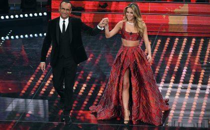 Sanremo 2017: Maria De Filippi a Caterina Balivo: 'La Leotta può vestirsi come vuole'