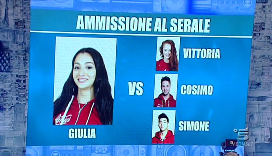 3 Giulia sfida