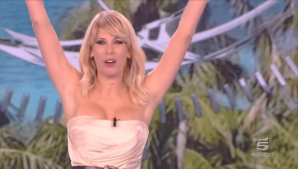 Alessia Marcuzzi, nona puntata Isola dei famosi