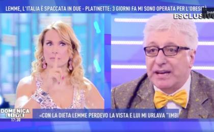 Domenica Live, Barbara D'Urso contro Lemme: 'Non rivolgerti mai più ai minorenni'