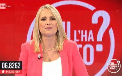 Chi l'ha visto?, Federica Sciarelli sbotta in diretta TV: 'Sei Michele Caruso? Ti denuncio'
