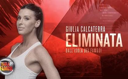 L'Isola dei Famosi 2017, eliminata Giulia Calcaterra