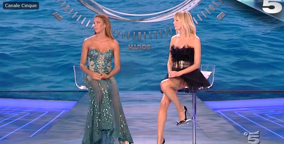 Giulia Calcaterra su Canale 5