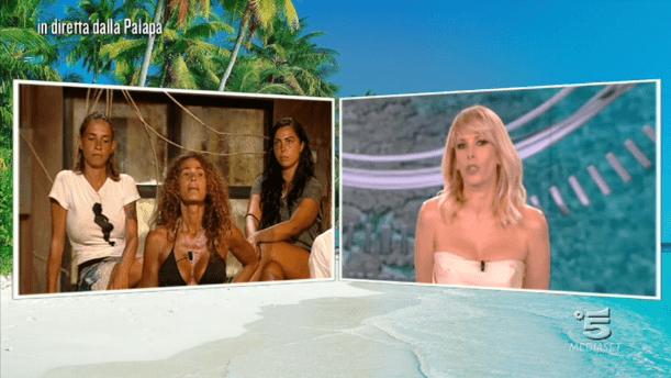 Isola dei famosi 12, Samantha de Grenet si confronta con Alessia Marcuzzi