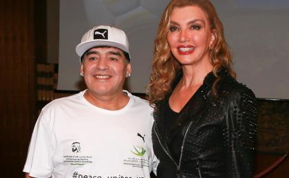 Ballando con le Stelle 2017, Milly Carlucci ballerina per una notte al posto di Maradona