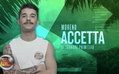L'Isola dei Famosi 2017: Moreno eliminato, ma resta in gioco