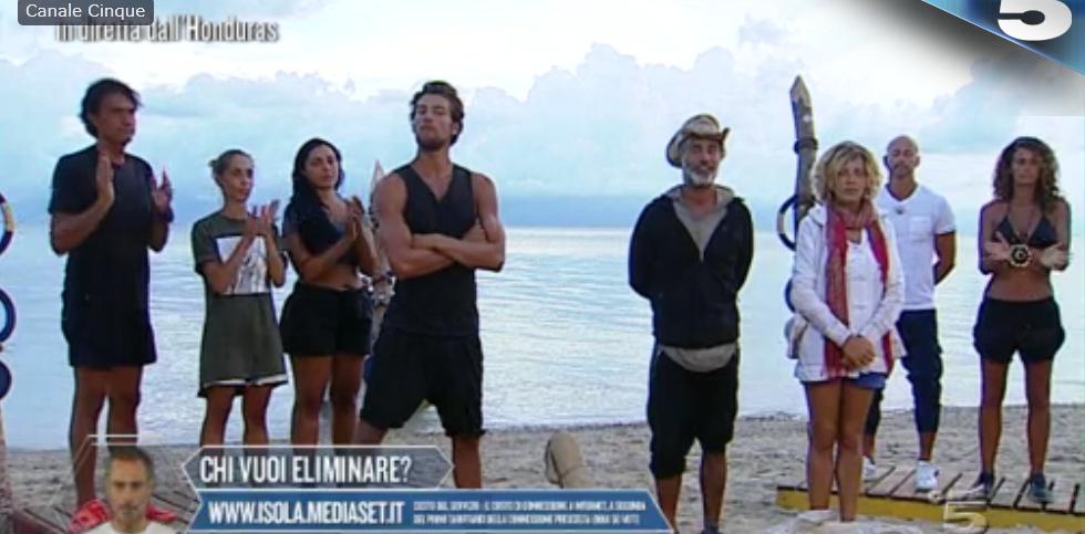 Nominati settima puntata Isola