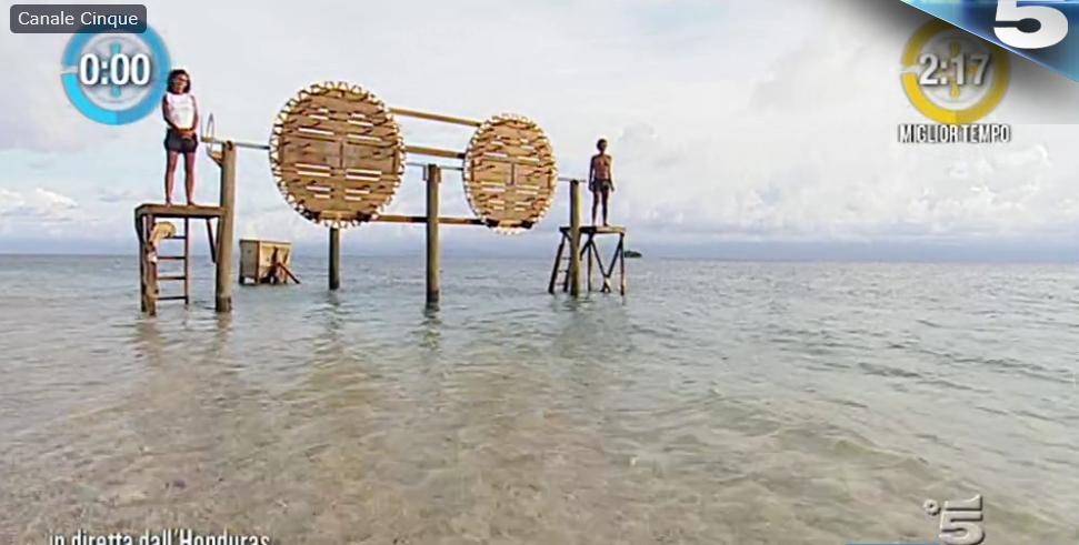 Prova leader Isola dei famosi 2017