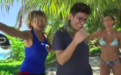 L'Isola dei Famosi 2017, Eva Grimaldi e Imma Battaglia: la scenata di gelosia