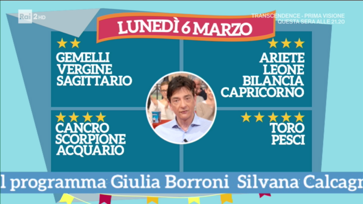 Oroscopo di oggi Paolo Fox 6 marzo 2017 a I Fatti Vostri: previsioni radiose per il Toro