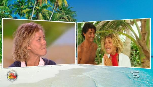 Isola dei famosi 12, Eva Grimaldi rivive i best moments