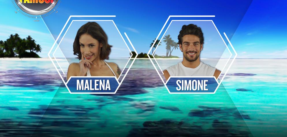 L'Isola dei Famosi 2017, nominati: Simone Susinna e Malena