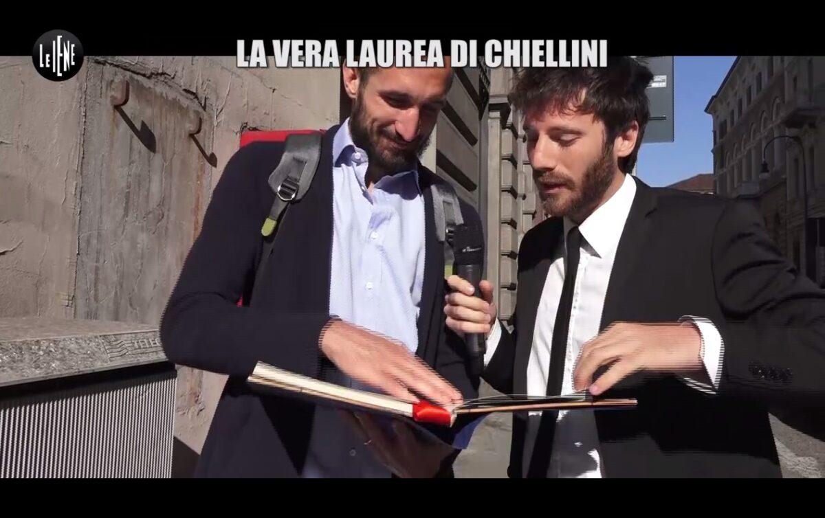 Le Iene Chiellini De Devitiis 23 aprile 2017