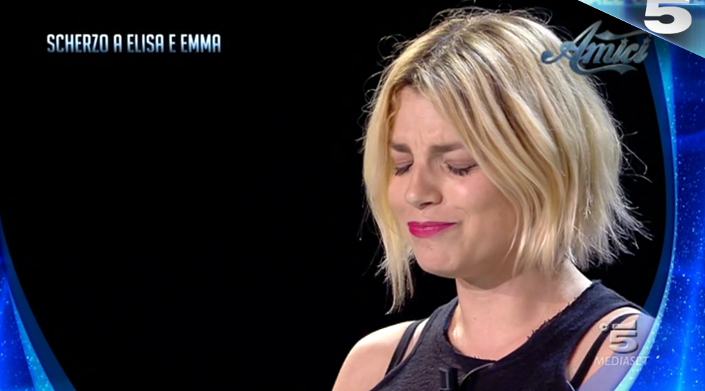 Scherzo Emma sesta puntata serale amici 2017