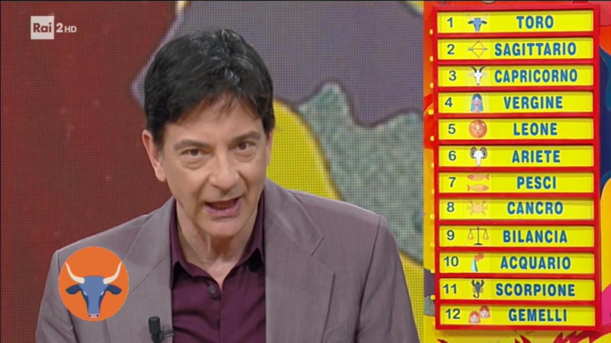 Oroscopo Paolo Fox 2 aprile 2017, la classifica settimanale a Mezzogiorno in Famiglia: Toro in prima posizione