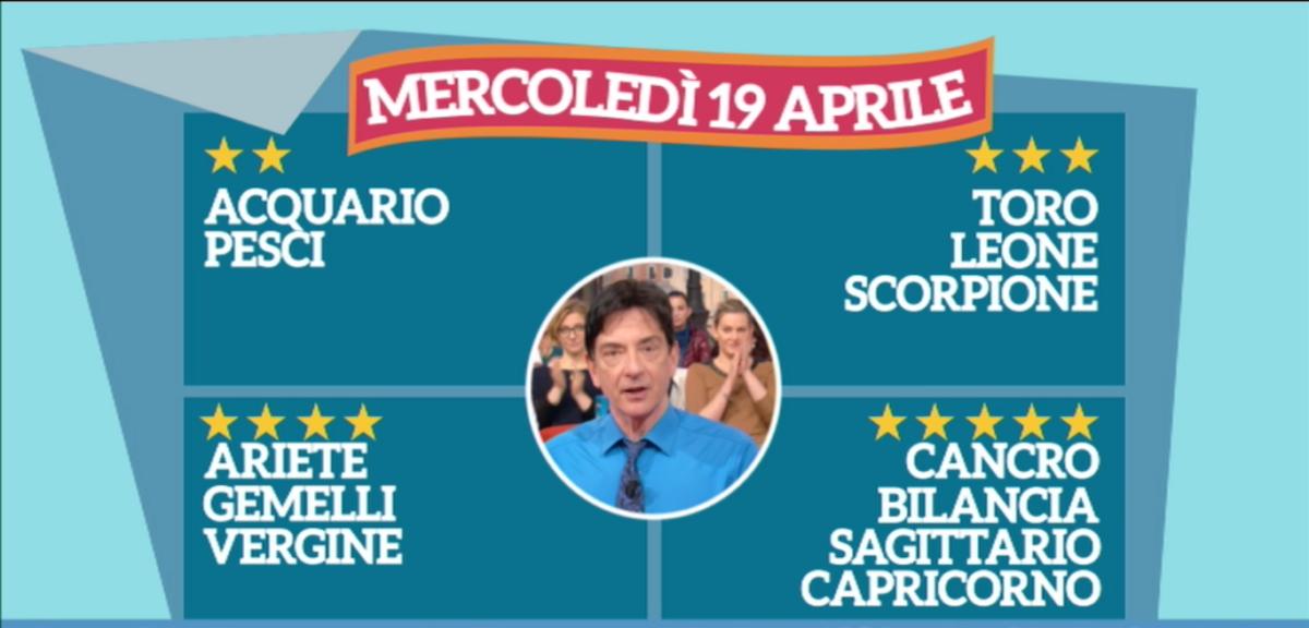 Oroscopo Paolo Fox 19 aprile 2017 a I Fatti Vostri: Bilancia, le stelle vi gratificano