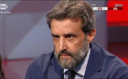 Flavio Insinna a Cartabianca: 'Assalto mediatico di Striscia la notizia contro di me'