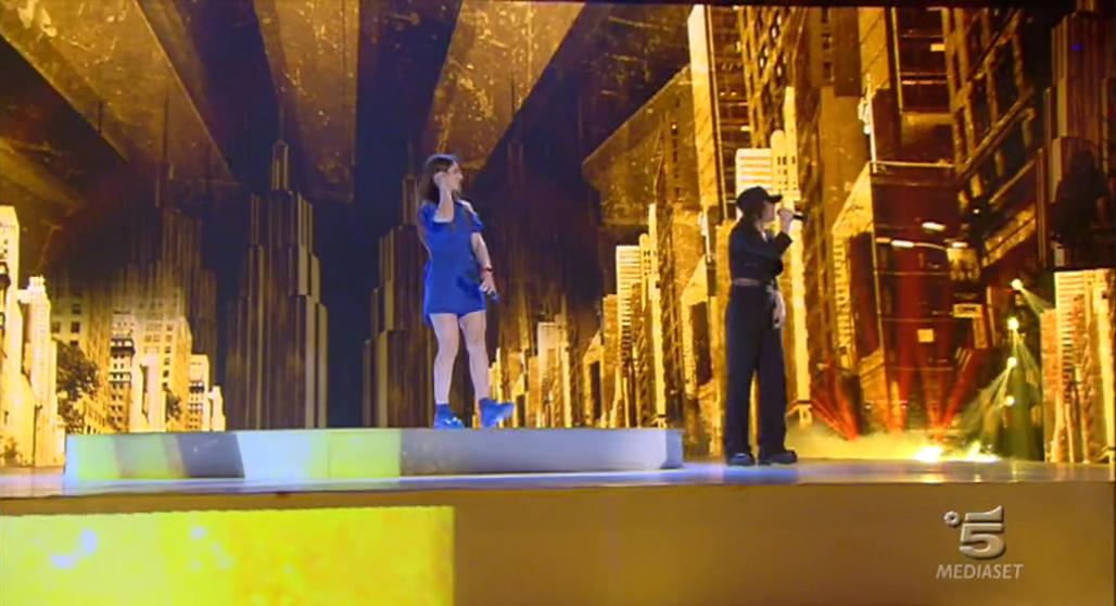Amici 2017, Elisa canta con Federica