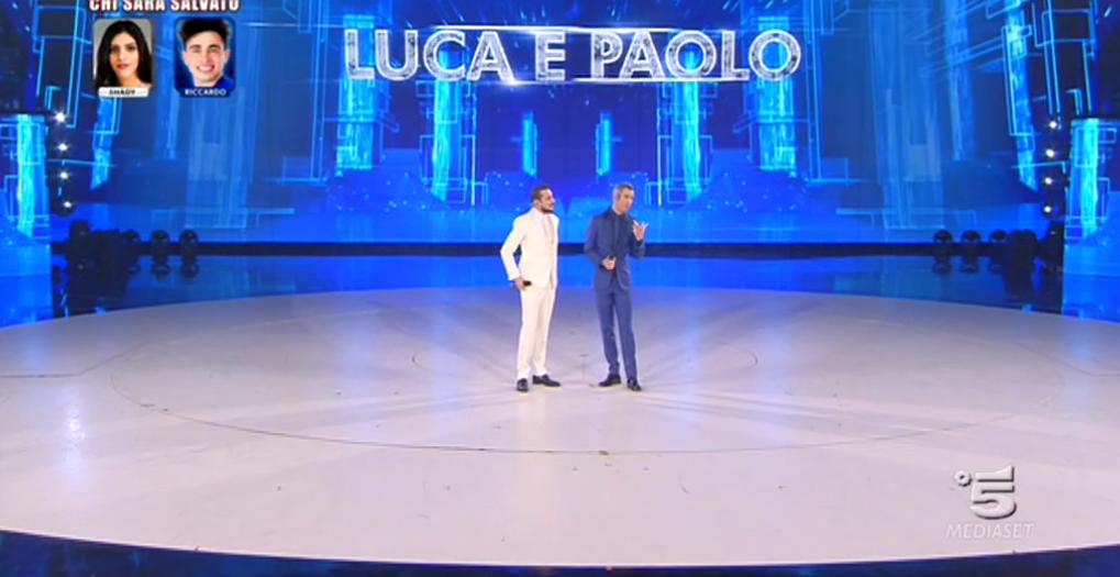 Amici 2017, Luca e Paolo alla settima puntata del Serale