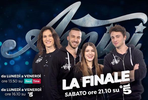Amici 2017, i finalisti: chi sono Andreas, Federica, Riccardo e Sebastian?
