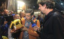 Tapiro d'oro a Francesco Gabbani dopo lEurovision 2017: 'Sono sostenitore dei ribaltamenti'