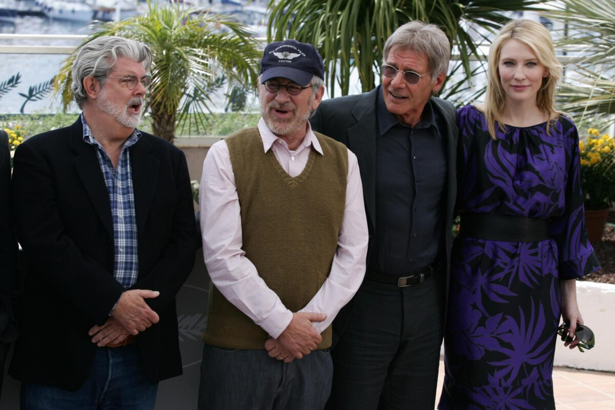 Indiana Jones Cast Steven Spielberg