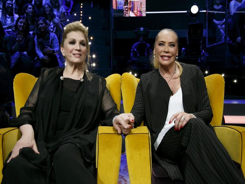 Iva Zanicchi e Barbara De Rossi