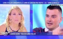 Domenica Live, lite in diretta tra Barbara D'Urso e il figlio di Ilona Staller: 'Sei scorretto'