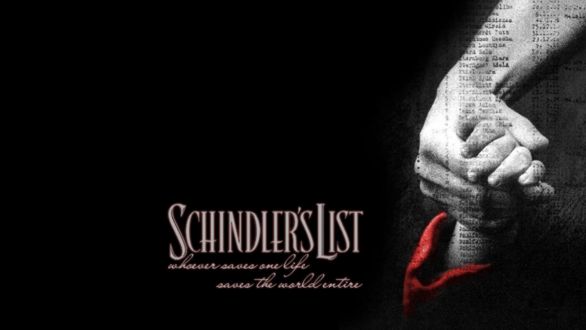 Schindler's List Steven Spielberg