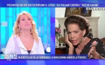 Domenica Live: scontro in diretta tra Barbara DUrso e Marisela Federici