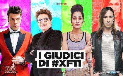 X Factor 2017, giudici: Fedez, Manuel Agnelli, Mara Maionchi e Levante