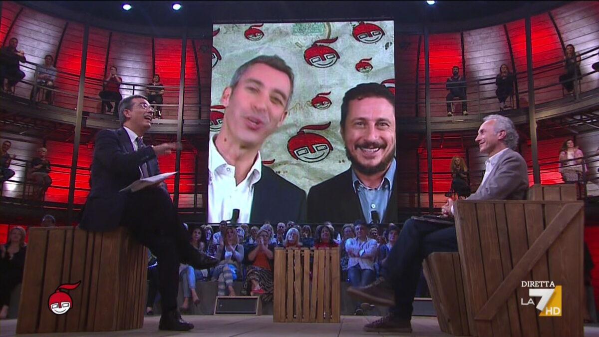 DiMartedì, copertina di Luca e Paolo del 16 maggio 2017: 'Salvini vince le primarie della Lega Nord'