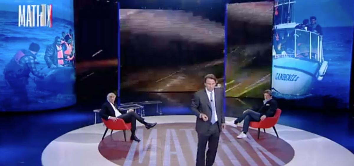Matrix, aggressione in diretta Tv alla stazione Termini: l'inviata Parisella sconvolta
