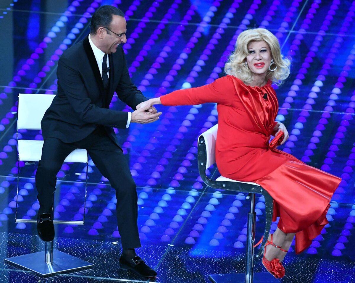 Sanremo: Virginia Raffaele torna nei panni di Sandra Milo
