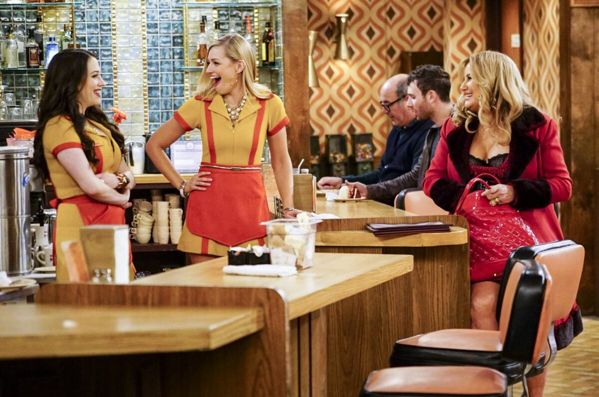 2 broke girls serie tv comiche americane