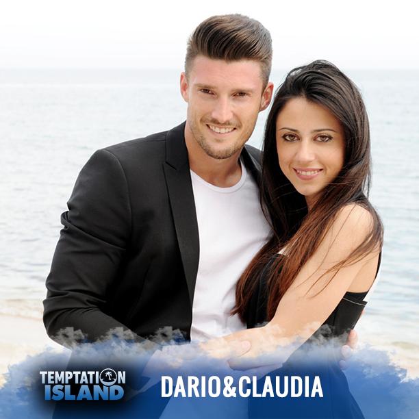 Dario Loda e Claudia Merli di Temptation Island 2015