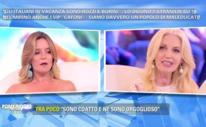 Pomeriggio 5, la Marchesa di Aragona querela Patrizia Groppelli in diretta tv
