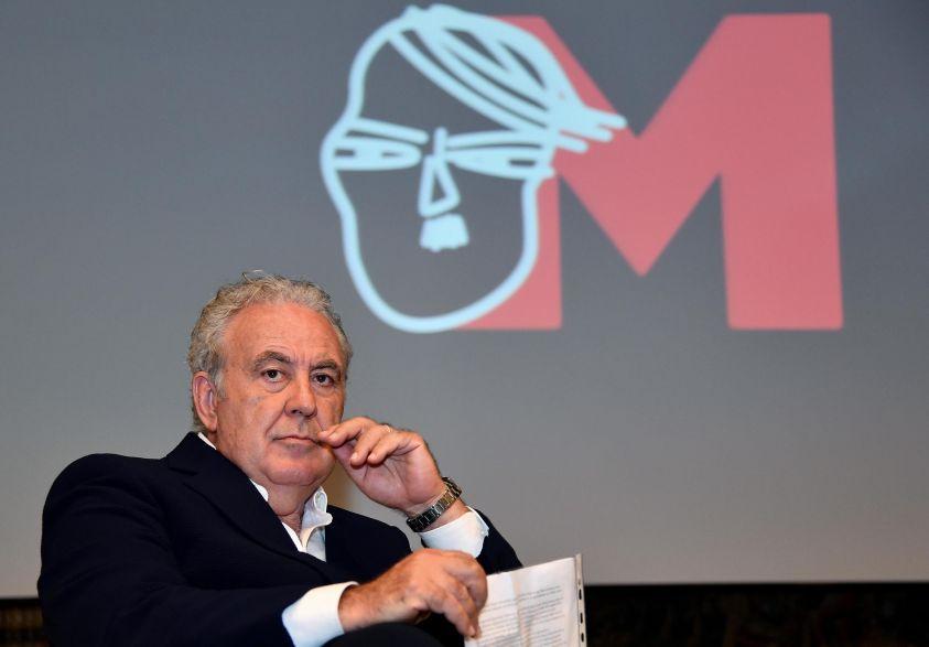 Michele Santoro presenta M format sperimentale su Rai 2