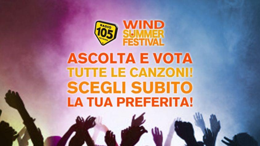 Wind Summer Festival 2017 su Canale 5: conduttori e cantanti dei quattro appuntamenti in Piazza del Popolo