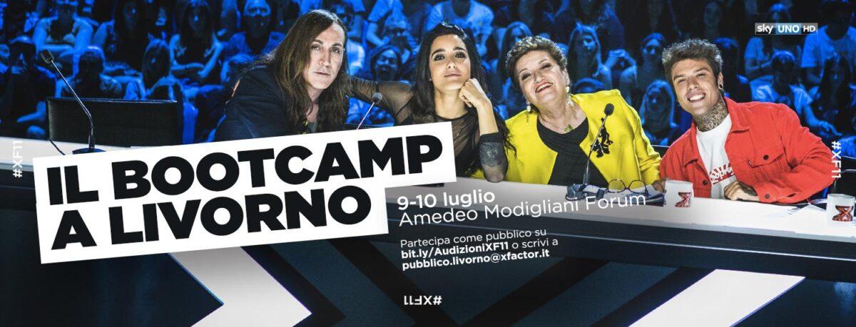 X Factor 2017 – Bootcamp, l'11 edizione parte da Livorno: come partecipare